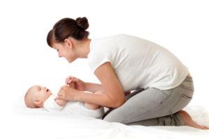 мама и ребенок гимнастика
