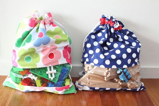 мешки с игрушками