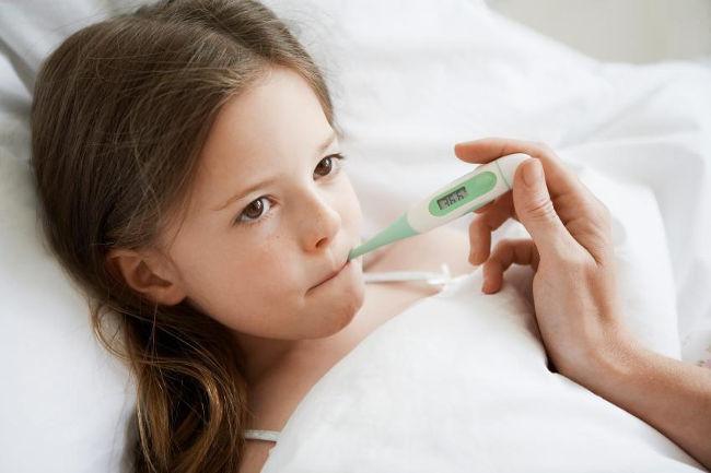 у ребенка простуда
