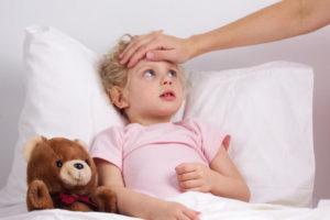 Что делать у ребенка температура 39 и болит голова