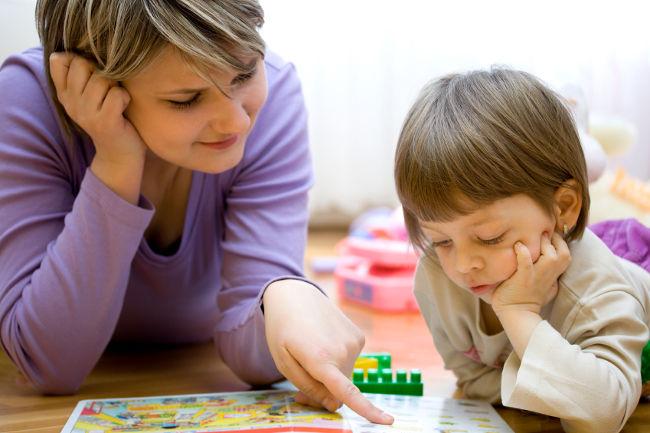 учим ребенка говорить