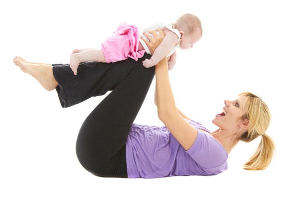 мама и ребенок фитнес