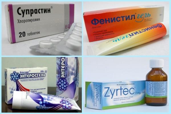 Препараты для лечения атопического дерматита