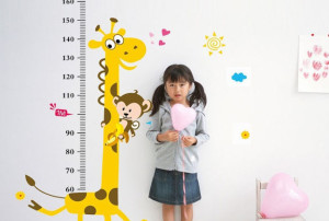 ребенку меряют рост