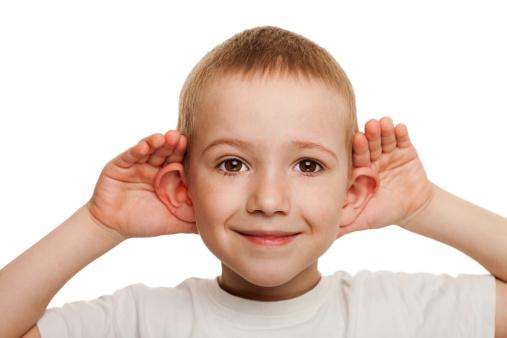 ребенок не слышит