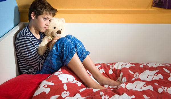 ребенок обеспокоен перед сном