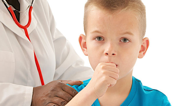 ребенок кашляет, прием у врача