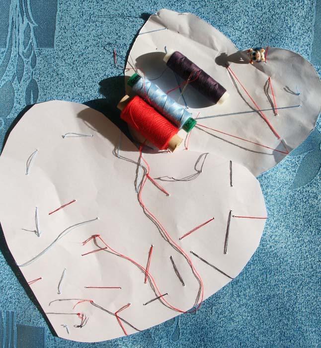 Как ребенка научить шить