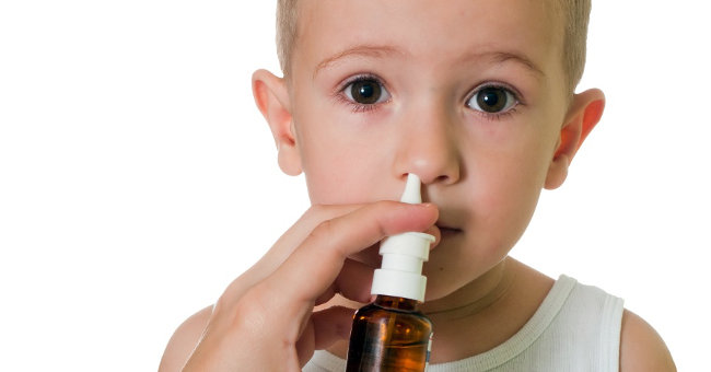 лечим у ребенка насморк