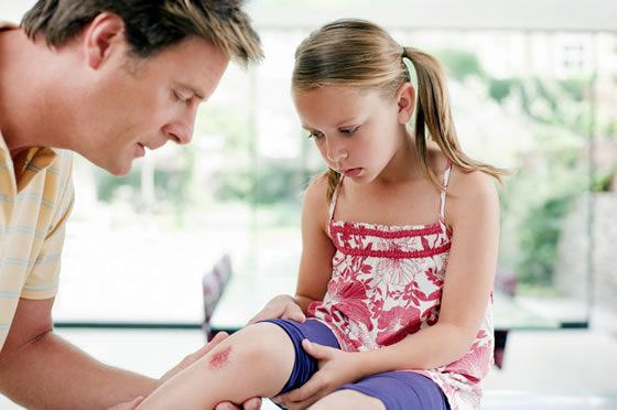 у ребенка травма ноги