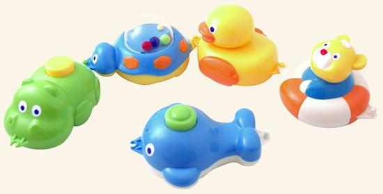 игрушки для купания ребенка